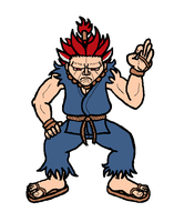 Akuma Is A Ok by Twardz