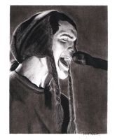 Jesse Lacey Charcoal 01 by chromefox