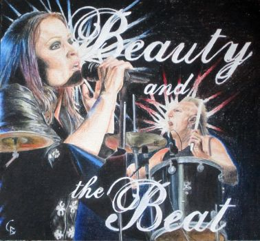 Beauty and the Beat by ArtGoldArt