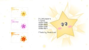 Star Wallpaper Pack by Pixellover