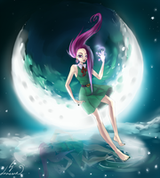 Roxy and the Moon by Lonome