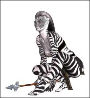 Zebra Amazone by Vehemel