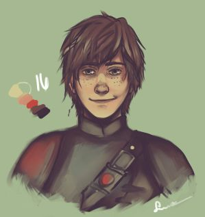 Older Hiccup by sakuraartist