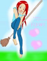 ::My Broom Flies?:: by Kill-Bloody-Rosesxxx