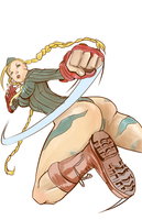 Cammy Sketch by kidmitchell