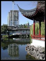 Chinese Gardens by AlexCphoto