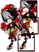 .:ADOPTED:. Roaming Jester by Devil1lin