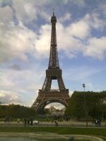 Eiffel tower in Paris day by Marlous2604