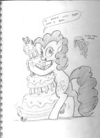GS Sketchbook 4 - Cake Dance by DocWario