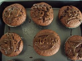 MARS cupcakes 3 :D by A-chanx3