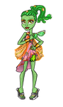 Monster High: Gorgon new outfit. by Uruseline
