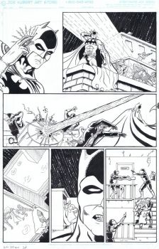 Batman vs. Predator pg. 2 by ManMadeMonster