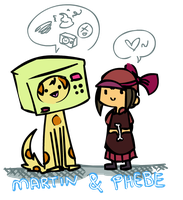 Martin and Phebe by Animzer