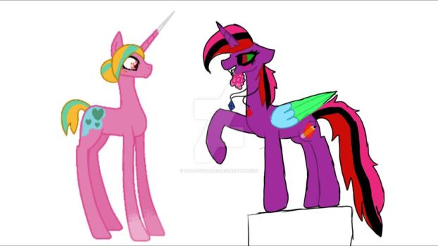 collbe with SparkleMonkey211 by puppetgamer12