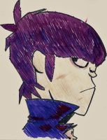 Murdoc by iWiLlFlYtOdAy