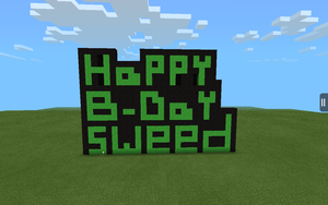 Happy Birthday Sweed by AwsomeKid123