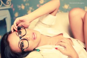 with the glasses by bosen