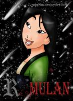 Mulan disney by rebenke