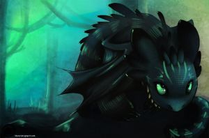 The Cheshire Toothless by ChaconTilune