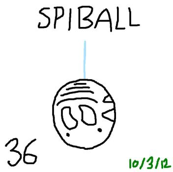 Lazymon: Spiball by Lobsterprince