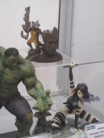 Marvel Statues by WhiteFox89