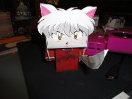 InuYasha Papercraft by societyisfucked
