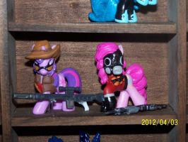 Team Fortress Two Ponies RED TEAM by coonk9