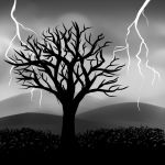 Lightning Tree by TamalasGhost