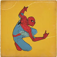 Spider Man 60s version by paulorocker