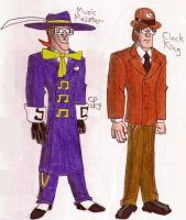 'The' Meister and Clock King by Anicomicgeek