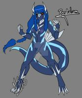 Pendulum the Dialga Pokemorph by Inkblot-Rabbit