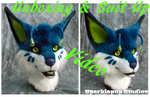 Abyssora Fursuit Unboxing and Suit Up by LuckyLucario