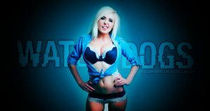 WATCH DOGS and Jessica Nigri by RazoTRON