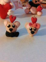 Teddy Bear head charms WIP by LegendsAndMyths