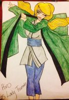 Contest Entry: Hiro as Lady Tsunade -colored- by Lady-Yuukie