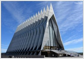 United States Air Force Academy Cadet Chapel by KlaraDrielle