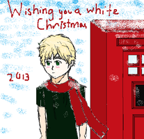 Britain X-mas Card by cantthinkofusername1