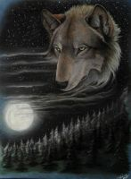 Wolfmoon by SteelC