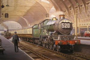 Castle at Paddington. by Artistjeffries