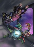 Rejlan's Space Adventure by yohunny