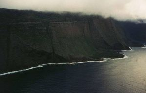 Flight III-Molokai Cliffs by spirals