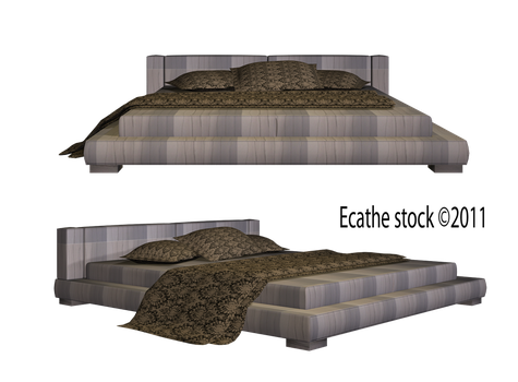 Bed stock furniture by Ecathe