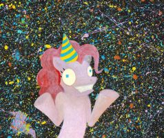 SURPRISE or: LIFE IS A PARTY by EvilZombieDove