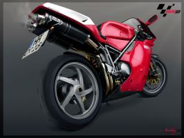 Ducati Bike Toon by NoobyBg