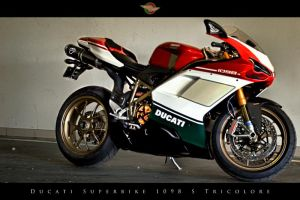 Ducati 1098 S Tricolore by UrbanRural-Photo