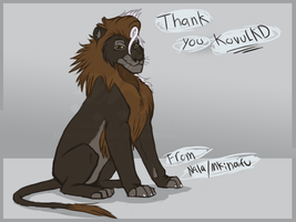 Thank you by Nala91