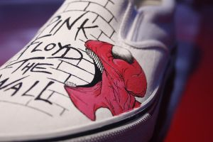 Pink Floyd Custom Shoes by Hellasure