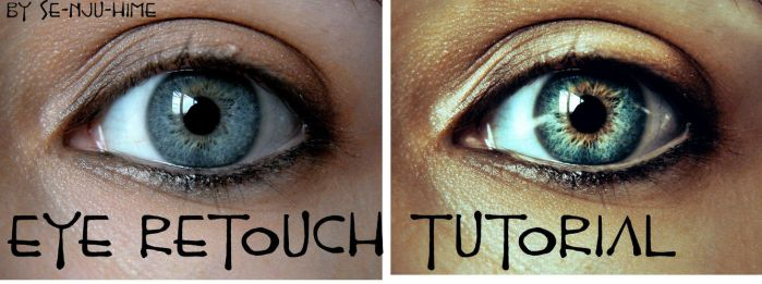 Eye Retouch Tutorial by cristina-otero
