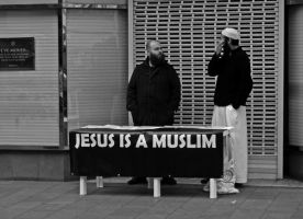 Jesus is a Muslim by daliscar