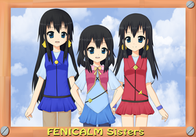 Fenicalm Sisters by RJAce1014
